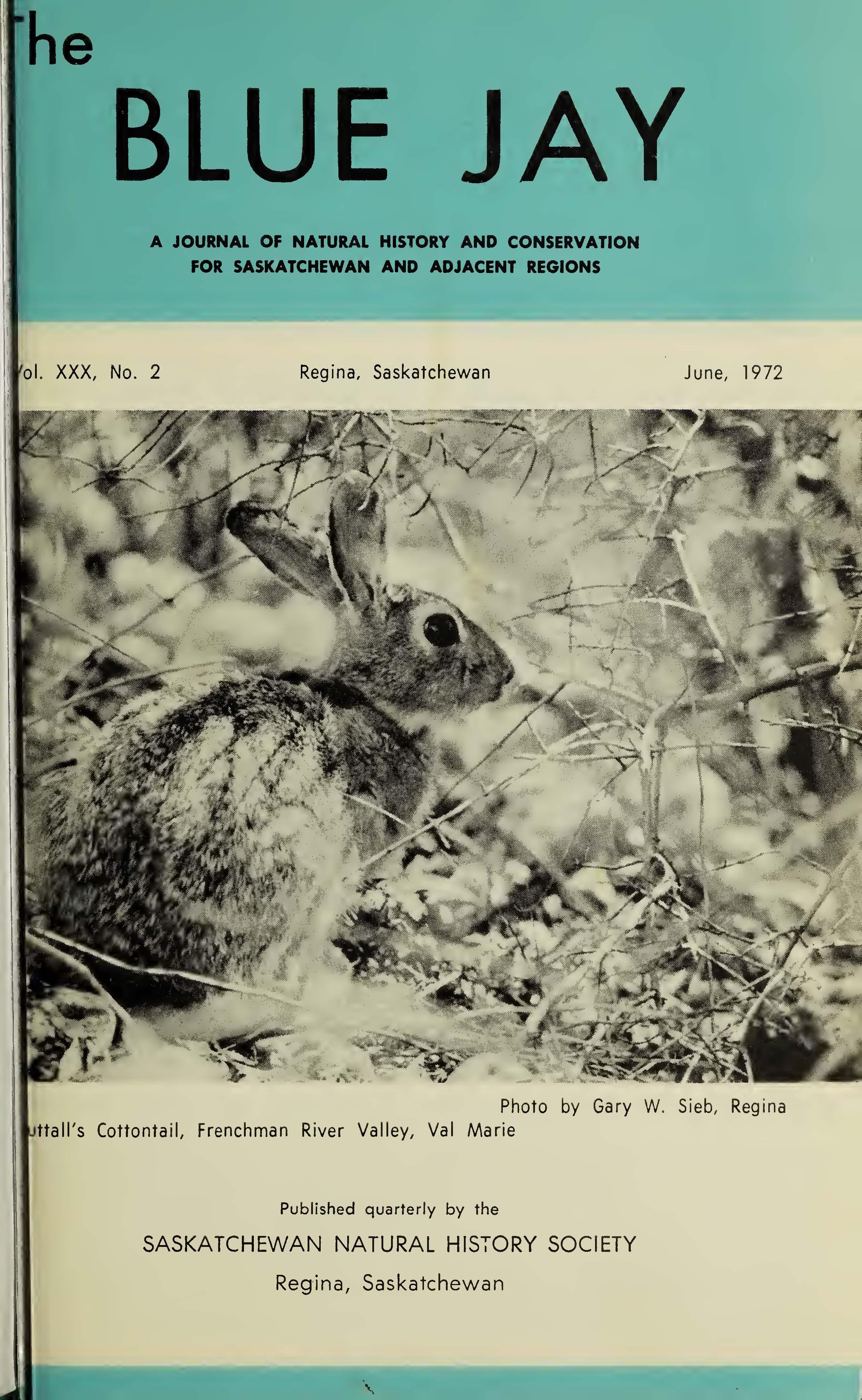 View Vol. 30 No. 2 (1972): June 1972