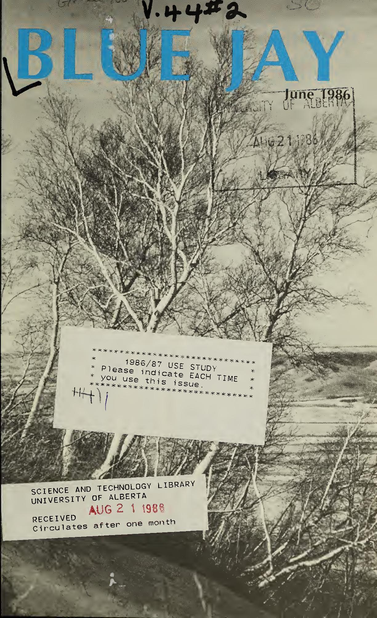 View Vol. 44 No. 2 (1986): June 1986
